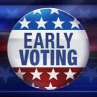 early voting button image