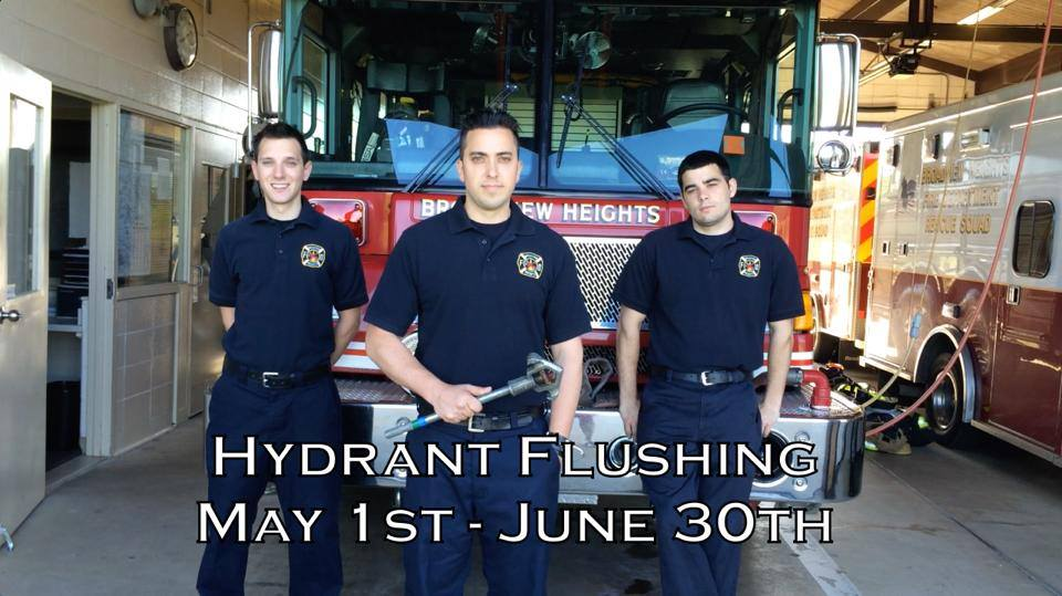 hydrant flushing pic