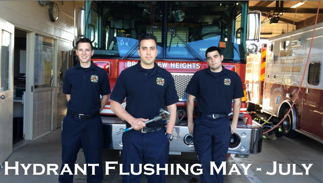Hydrant Flushing Picture May to July