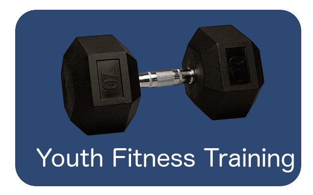 youth fitness button