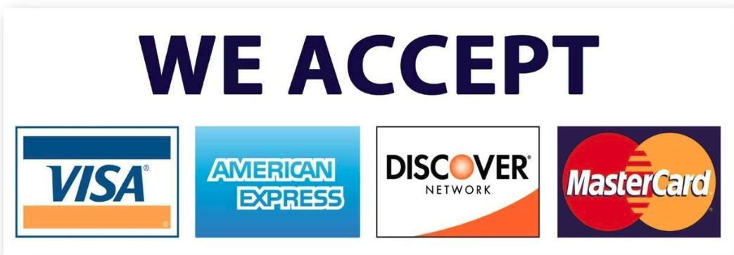 we accept payment button
