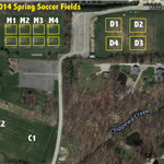 2014 Spring Game Fields
